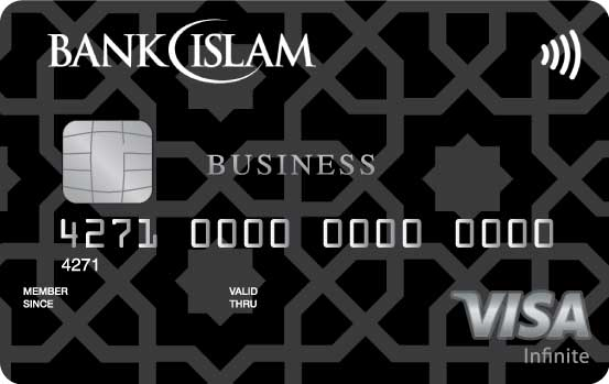 Bank Islam Visa Infinite Business Credit Card-i