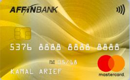 AFFINBANK - Mastercard Gold