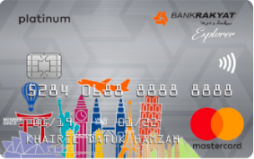 Bank Islam Explorer Platinum Card-i