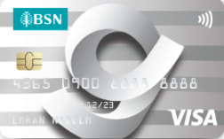 BSN G-Card Visa Credit Card
