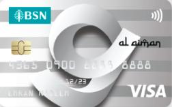 BSN G-Card Al- Aiman Visa Credit Card