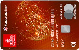 Hong Leong Emirates World Elite Card