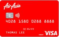 Hong Leong Air Asia Gold Visa Credit Card