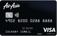 Hong Leong Air Asia Platinum Visa Credit Card