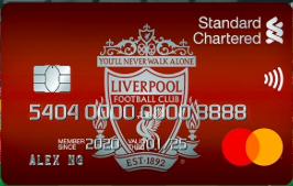 Standard Chartered FC Cashback Credit Card