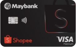 Maybank Shopee Visa Platinum Credit Card