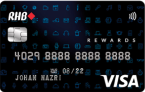 RHB Rewards Motion Code Credit Card