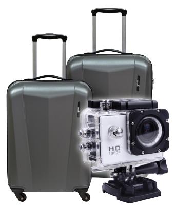 Condotti Luggage Bag or Multipurpose Sports Digital Video Camera