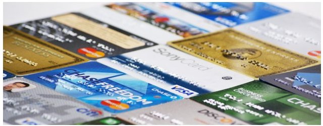 Credit Cards, Debit Cards and Charger Cards