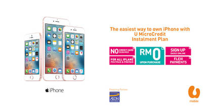 Buying a New iPhone? Here's why U Mobile U MicroCredit May Be the Best Financing Option For You.