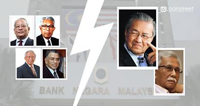 Bawah Mahathir Dulu, 4 Gabenor Bank Negara Letak Jawatan. Kenapa?