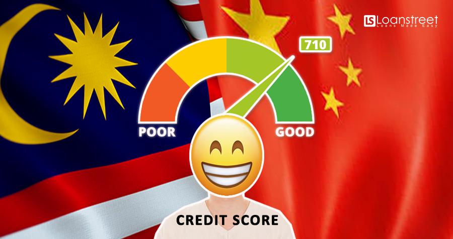 malaysia vs china credit score