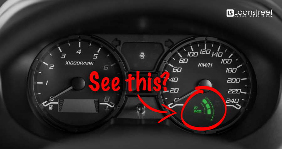 Did You Know The Green 'Eco' Symbol Can Help You Save Petrol?