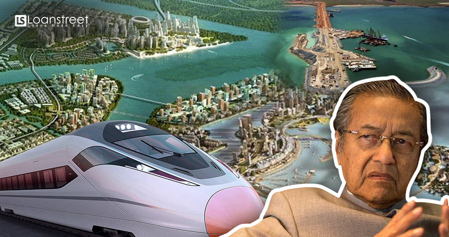 7 China-linked Mega Projects That Mahathir Might Not Be Approving!