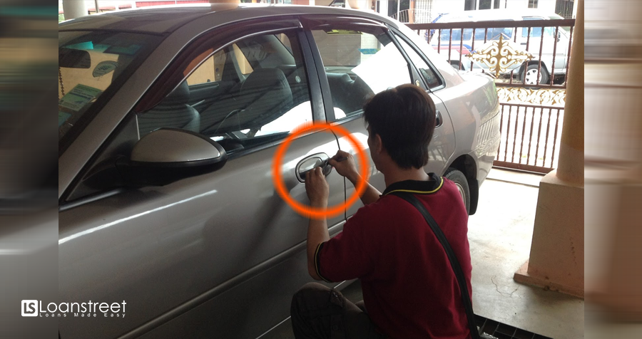 Harga buka kunci kereta