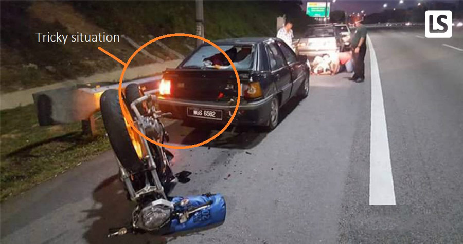 Motorcyclists! Better Watch Out if You Encounter These 4 Tricky Situations