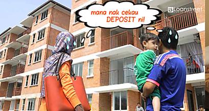 Nak rumah tapi takde deposit? 2 program kerajaan ni akan bantu korang!