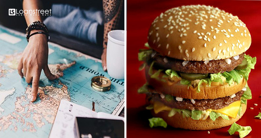 Travelling ON A BUDGET? HAVE A BIG MAC! Here's How