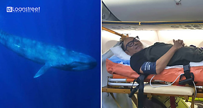 From Whale Hunting To Ambulance Riding. M'sian Man a Suffered Spinal Injury in Sri Lanka