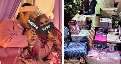 Jimat Kaw-Kaw Dengan 5 Idea Hadiah Wedding Murah Ni