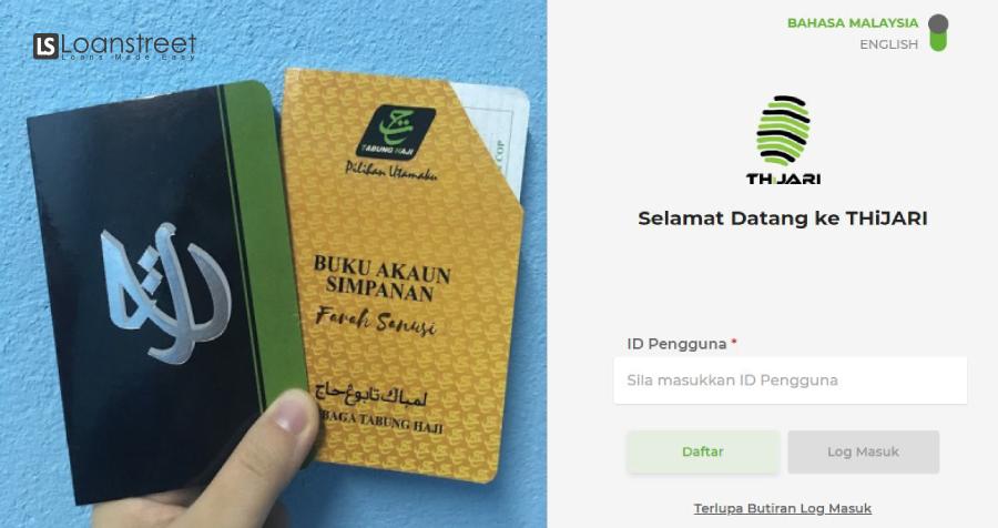 Daftar Akaun Tabung Haji Online Dengan Thijari Ini Caranya