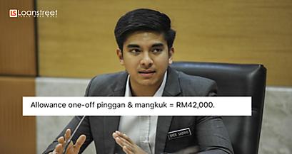 Jap, Elaun Pinggan Menteri Boleh Beli Berapa Banyak Insurans?