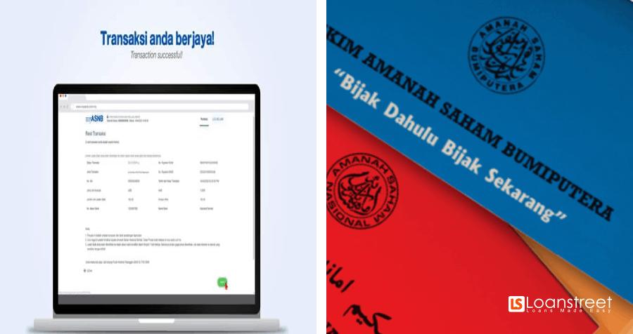 Pengeluaran Duit ASNB Secara Online: Ni Cara-Caranya