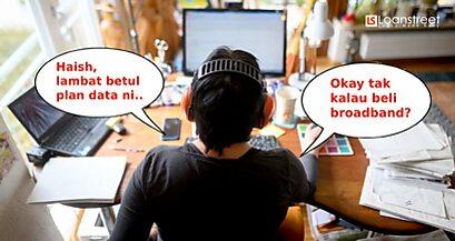 Kalau Nak Work From Home, Home FIbre Broadband Mana Ok?