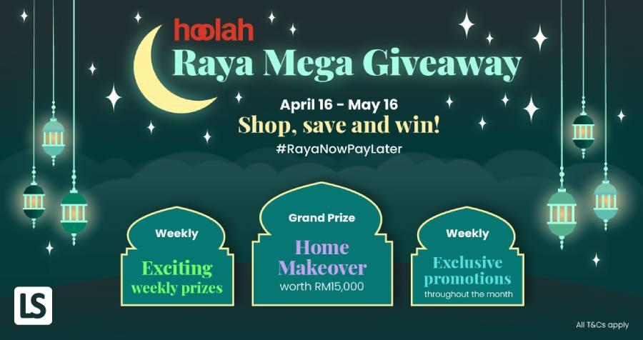 #RayaNowPayLater with hoolah