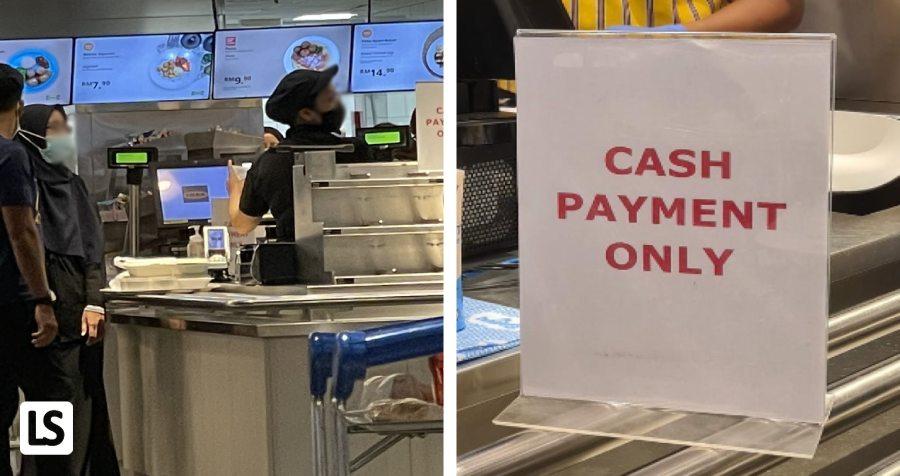 Pelanggan Kena Sindir Dengan Cashier Sebab Takde 'Cash'