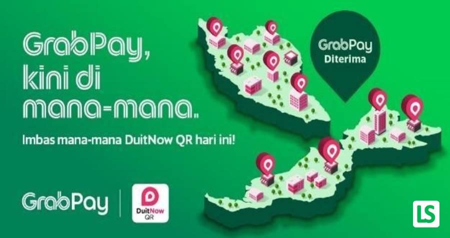 GrabPay DuitNow QR, Kini Di Seluruh Negara!