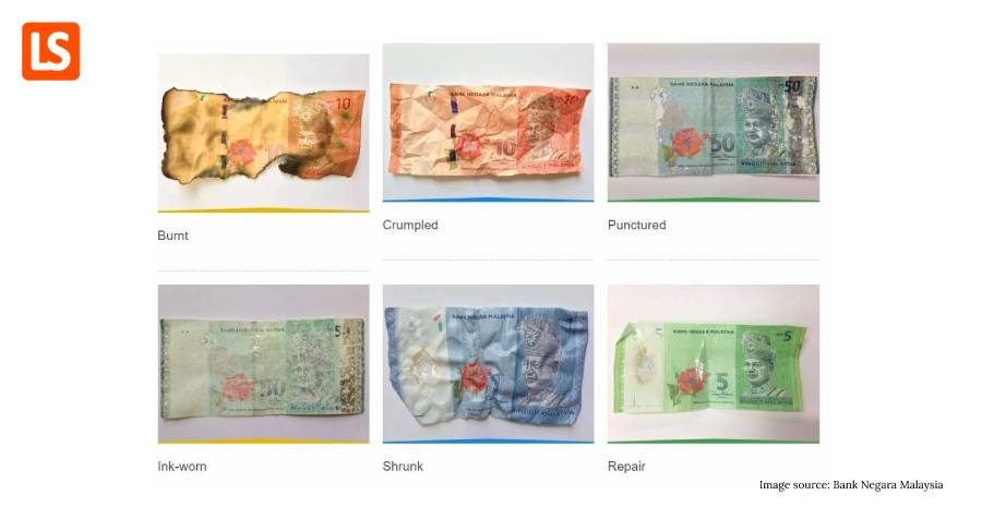 Got Damaged Ringgit Banknotes/Coins? Don't Throw, Can Exchange