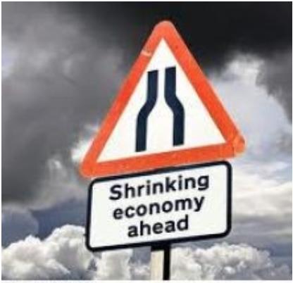 shrinking economy ahead