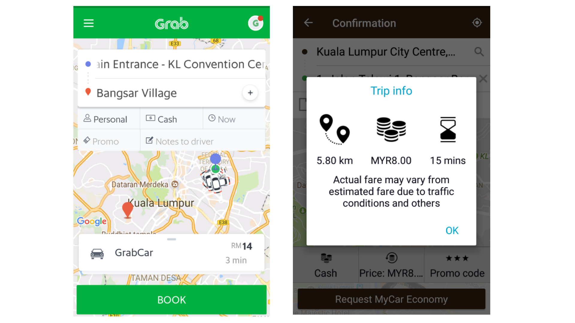 Grab VS MyCar: Which One Is More Cost Effective & Functional?