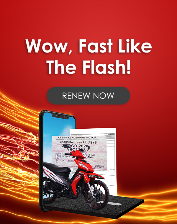 The Flash - MOTORCYCLE
