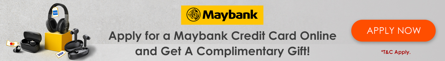 Maybank Credit Card Promotion (Affiliate Involve Asia- 30th Sept)